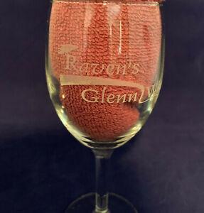 Raven's Glenn Winery Wine Glass Ohio