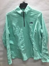 Used The North Face Women's 1/4-Zip Glacier Fleece Pullover, Teal, Sz: XL (BS)