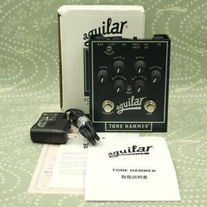 Aguilar Tone Hammer Preamp DI With Original Box Adapter Guitar effect pedal