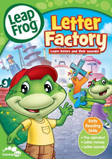 Leap Frog Letter Factory DVD Toddlers Kids Educational ABC Childrens Learning