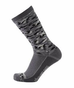 2019/20 Crosspoint Lightweight Waterproof Socks in Grey Camo by Showers Pass