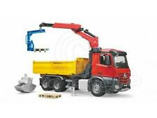 Bruder Toys 03651 Pro Series Mercedes Benz MB Arocs Truck c/w Crane + Bits 1:16