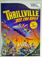 Thrillville: Off the Rails (Nintendo Wii, 2007) Complete with Case and Manual