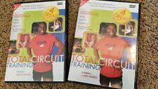 2 Alan Harris Total Circuit Workout DVDs Aerobics & Strength, Yoga & Pilates