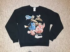 Finding Nemo Sweatshirt M Cartoon Retro Disney Movie Promo Comedy Rare 2003