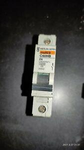 Merlin Gerin MCB 6 Amp Single Pole Breaker Type B 6A Multi9 C60HB106 25842