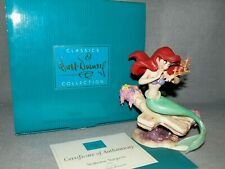WDCC THE LITTLE MERMAID  ~SEAHORSE SURPRISE~ ARIEL 1ST EDITION 1997 MIB