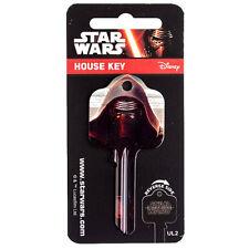YALE 6 PIN UL2 Star Wars House Key Blank - Kylo Ren