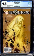 NEW MUTANTS VOL. 2 (2003) #7 CGC 9.8 WHITE PAGES 1ST APPEARANCE OF TAG
