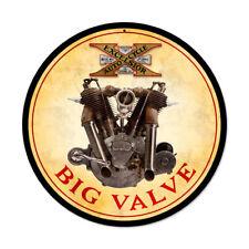 1916 Excelsior Big Valve motor Racer motocicleta estados unidos retro sign chapa escudo Escudo