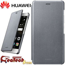 Flip Cover ORIGINALE HUAWEI Per P9 Lite Custodia Smart in Pelle Slim Dark GREY