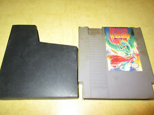 NINTENDO  NES GAME DRAGON WARRIOR  CARTRIDGE  AND DUST COVER