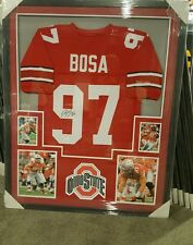 Joey Bosa Ohio State Buckeyes National Champions Autograph Framed Jersey Jsa Coa