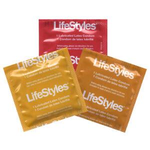 LifeStyles Lubricated Flavored Latex Rubber Condoms Vanilla Strawberry Banana