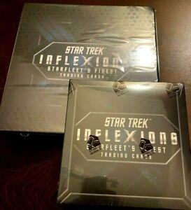 BRAND NEW 2019 STAR TREK INFLEXIONS HOBBY BOX! 3 AUTOS NIMOY MONTALBAN? + ALBUM!