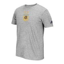 Adidas International Soccer Argentina Mens Team Crest Short Sleeve Tee Sz:L -705