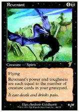 4X Revenant - LP - 7th Edition Core Set Seventh Magic MTG Black Rare