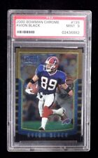 2000 BOWMAN CHROME AVION BLACK RC #199 PSA 9 FOOTBALL CARD
