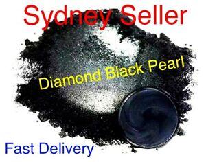 30g Diamond Black Pearl Pigment Powder Epoxy Stunning 400 Grit Wood River Table
