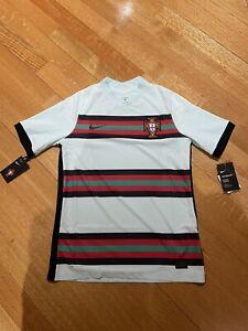 Nike Portugal 2020 Vaporknit Match Away Soccer Jersey CD0600-336 Size Medium