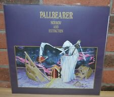 PALLBEARER - Sorrow and Extinction, Limited 2LP CLEAR/PURPLE VINYL Gatefold NEW!