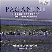 Paganini: Violin Caprices, transcribed for flute (2015)