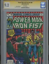 Power Man and Iron Fist #89  9.2  Signed by the late Denny O'Neil  CGC