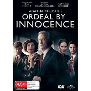 ORDEAL BY INNOCENCE DVD, NEW & SEALED, 200319, FREE POST
