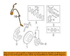 SUBARU OEM 08-14 Tribeca ABS Anti-lock Brakes-Front Speed Sensor 27540XA00A