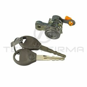 Right Side Door Lock Cylinder And Keys For Nissan Skyline R34 GTR