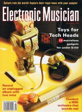1995 Electronic Musician Reviews PEAVEY SPECTRUM Organ CLAVIA NORD, ROLAND GI-10