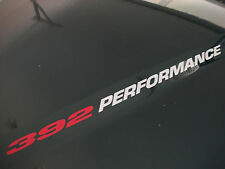 392 PERFORMANCE (pair) Dodge RAM 2500 6.4L Hemi Hood sticker decals