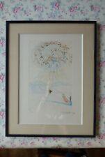 lithographie de Salvador Dali l'Apparition  signée et numérotée 88/250