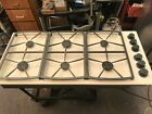 """46"""" Dacor  Off White  GAs Cooktop, in Los Angeles photo"""