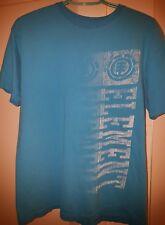 Used Men's ELEMENT Blue Logo Organic Cotton Skater T-Shirt SZ M HTF 2011