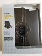 Targus Versavu Rotating Keyboard Apple iPad 3rd Gen Case.  Pre-owned