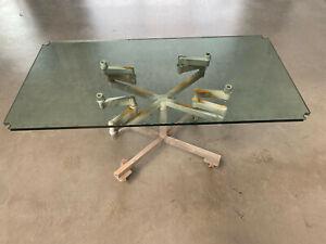 Original USM Haller Tischplatte 150 x 75 cm aus Glas (nur Tischplattte aus Glas)