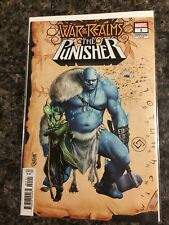 WAR OF THE REALMS PUNISHER#1NM Camuncoli Connecting Variant 2019 Marvel 04/17/19