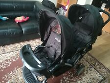 Graco Stadium Duo Double Pushchair with Branded Rain cover