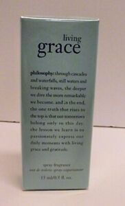 SEALED BRAND NEW Philosophy Living Grace Spray Fragrance 0.5 Fl. Ounce