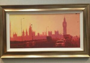 Rolf Harris Hand-Signed Limited Edition Canvas 'Fifties Rush Hour'