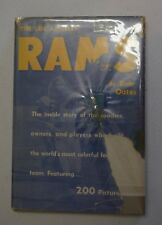 THE LOS ANGELES RAMS BY BOB OATES HC DJ 1955 WITH 200 PICTURES BX44 OUT OF PRINT