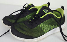 Champion Cushion Fit Boy's Youth Black Lime Green Athletic Shoes Size 4