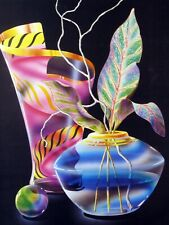 Abstract Vase Pottery Art 16x20 Poster