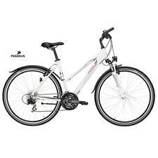 Donna Bicicletta Da Trekking Pegasus Avanti Sport 45 cm Shimano 21 G Alluminio