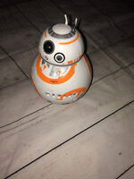 "Disney Star Wars Episode 7 BulbBotz Light BB-8 7.5"" Digital LCD Alarm Clock"