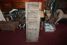 Antique Wood Window Shutter Country Barn Farm Primitive Shutter #9 Shabby Chic
