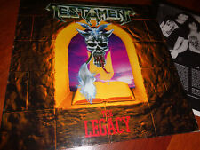 Tetament ‎– The Legacy..org,1987..Megaforce..in very good condition,rare!!!