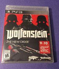 Wolfenstein *The New Order* (PS3) NEW