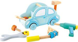 Werkzeugkasten Auto Small Foot PKW Schrauben Bohrer Hammer Schraubendreher